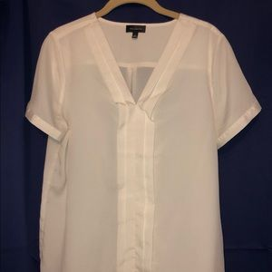 Limited cream pleated blouse